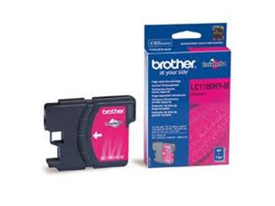 Brother LC1100HYM - Print cartridge - High Yield - 1 x magenta