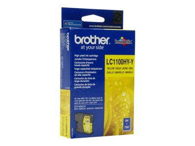 Brother LC1100HYY - Print cartridge - High Yield - 1 x yellow