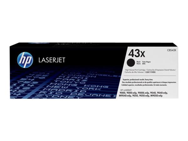 HP 43X High Yield Black Original LaserJet Toner Cartridge