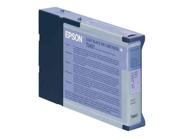 Epson T5437 Light Black Ink Cart