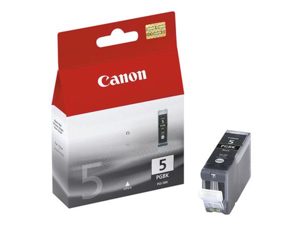 Canon PGI-5BK Pigmented Black Ink Tank - 360 pages