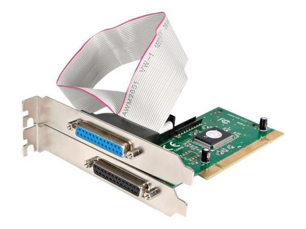 StarTech.com 2 Port PCI Parallel Adapter Card - EPP/ECP
