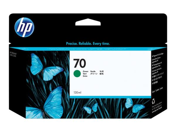 HP 70 130-ml Green Ink Cartridge