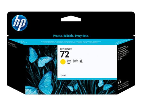 HP 72 130-ml Yellow Ink Cartridge
