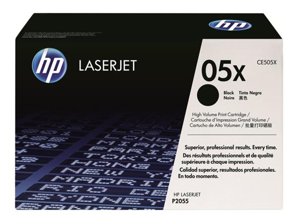 HP 05X High Yield Black Original LaserJet Toner Cartridge