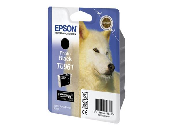 Epson T0961 - Print cartridge - 1 x photo black