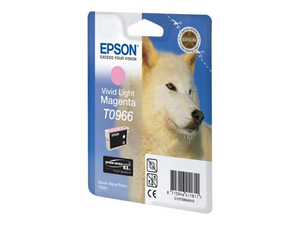 Epson T0966 - Print cartridge - 1 x vivid light magenta - 865 pages