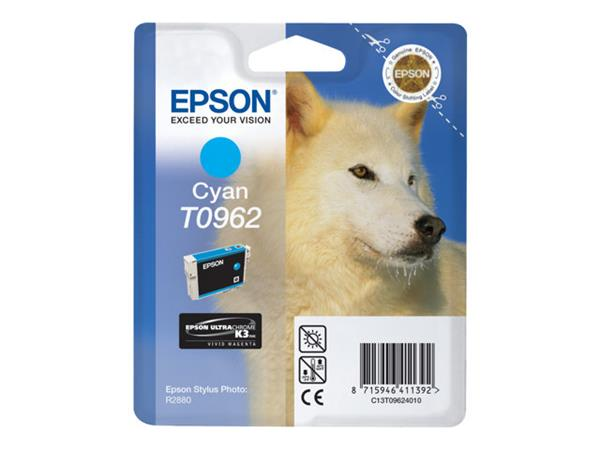 Epson T0962 - Print cartridge - 1 x cyan - 1505 pages