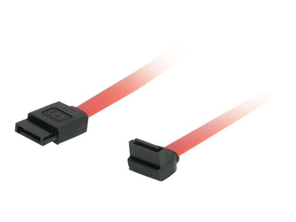 C2G 1m 7-pin 180° to 90° 1-Device Serial ATA Cable