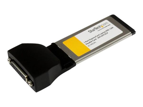 StarTech.com 1 Port ExpressCard Laptop Parallel Adapter Card -  SPP/EPP/ECP