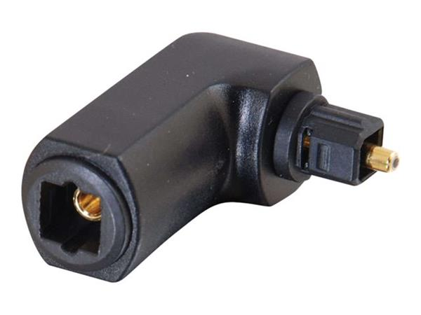 C2G Velocity™ 90° Angle TOSLINK® Port Saver Adapter