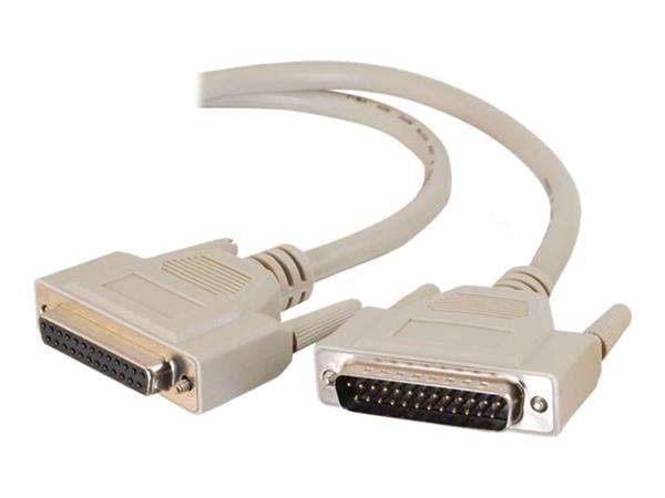 C2G 2m IEEE-1284 DB25 M/F Parallel Printer Extension Cable