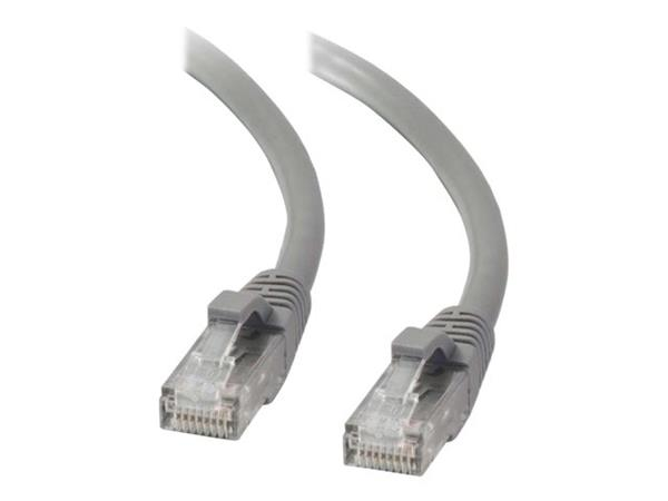 C2G 2m Cat5E 350 MHz Snagless Booted Patch Cable - Grey
