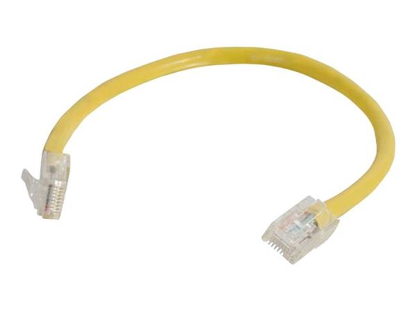 C2G 3m Cat5E 350 MHz Assembled Patch Cable - Yellow