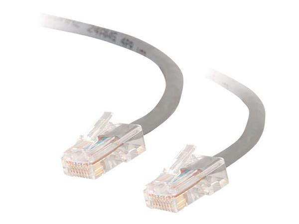 C2G 1m Cat5E 350 MHz Crossover Patch Cable - Grey