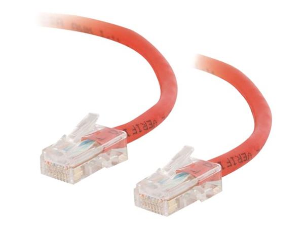 C2G 1.5m Cat5E 350 MHz Crossover Patch Cable - Red