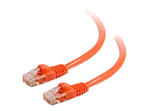 C2G 1.5m Cat5E 350 MHz Snagless Patch Cable - Orange