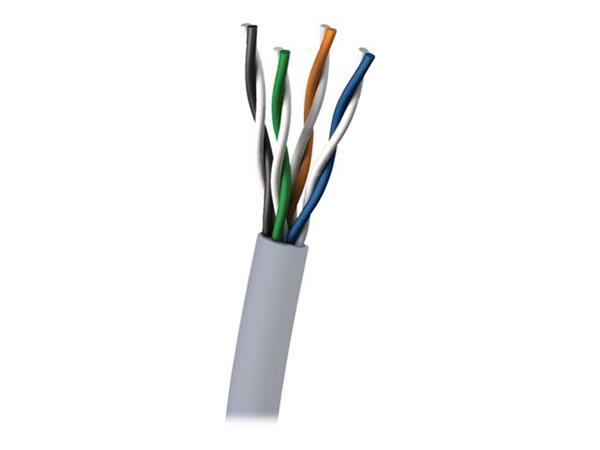 C2G 305m Cat5E UTP 350 MHz Solid PVC CMR-Rated Cable - Grey