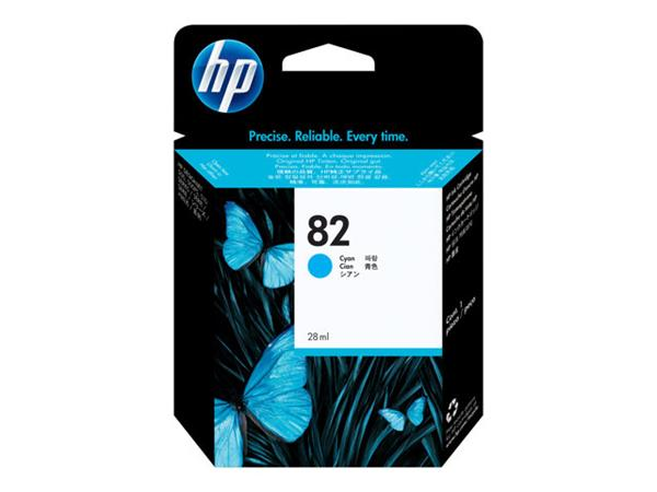 HP 82 28-ml Cyan Ink Cartridge