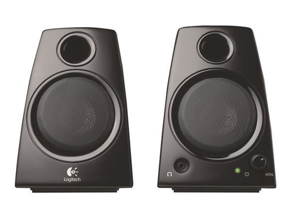 3d1404c7566 Logitech Z130 PC Multimedia Laptop Speakers - 5 Watt (980-000419 ...