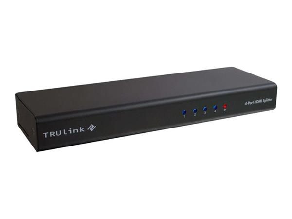 C2G TruLink® 4-Port HDMI® Splitter with HDCP™