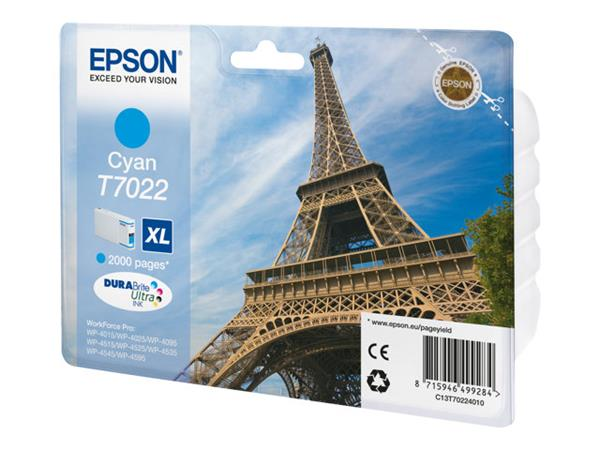 Epson - Print cartridge - XL size - 1 x cyan - 2000 pages