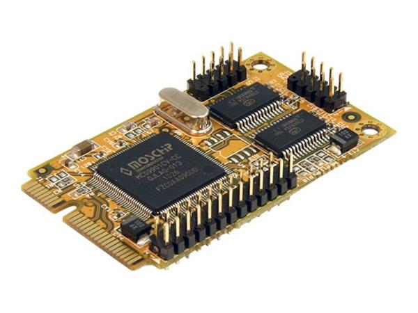 StarTech.com 2s1p Serial Parallel Combo Mini PCI Express Card for Embedded Systems