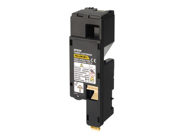 Epson AL-C1700 Toner Cartridge High Yellow 1.4k