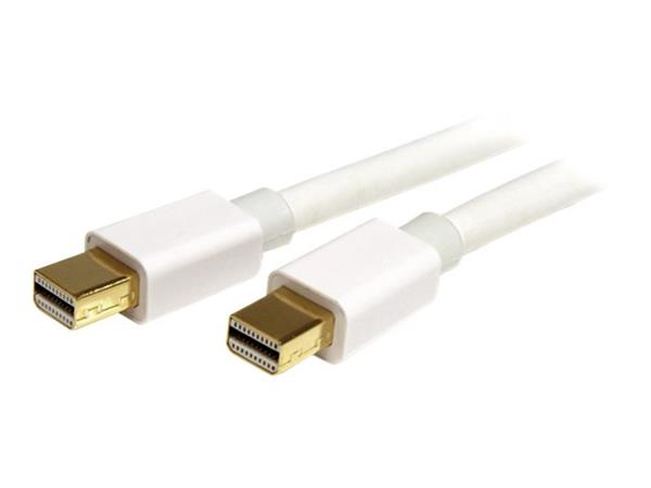 StarTech.com 3m (10 ft) White Mini DisplayPort Cable - M/M