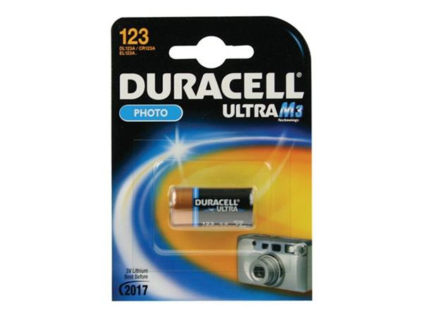Duracell 123 3 volt battery CR17345