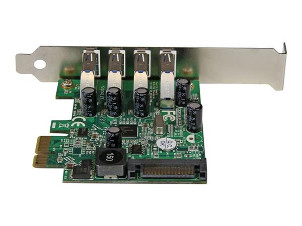 StarTech.com 4 Port PCI Express PCIe SuperSpeed USB 3.0 Controller Card Adapter with UASP
