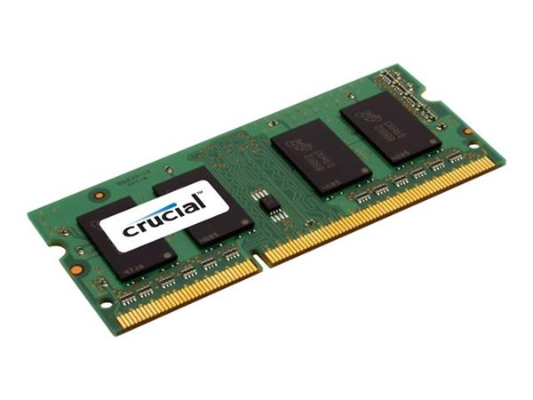Crucial 8GB DDR3 PC12800-1600MHz SoDimm Crucial Dual Voltage