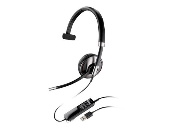 Poly Plantronics Blackwire C710-M Monaural UC Headset - Microsoft Lync/Skype for Business USB & Bluetooth