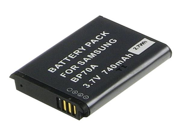 Samsung Digital Camera Battery 3.7v 740mAh