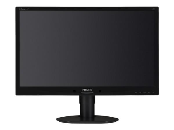 "Philips 24"" Brilliance LED Backlight LCD Full HD Monitor Black"