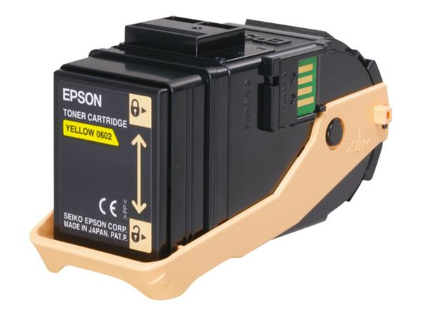 Epson AL-C9300N Toner Cartridge Yellow 7.5k