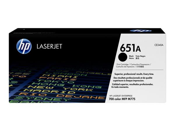 HP 651A Black Original LaserJet Toner Cartridge