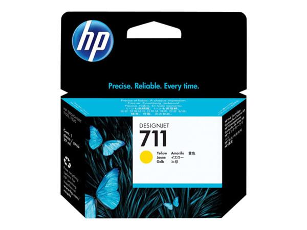 HP 711 29-ml Yellow Ink Cartridge
