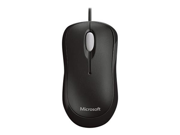 Microsoft Basic Optical Mouse Black - for Business