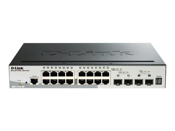 D-Link 20-Port Gigabit SmartPro Stackable Switch