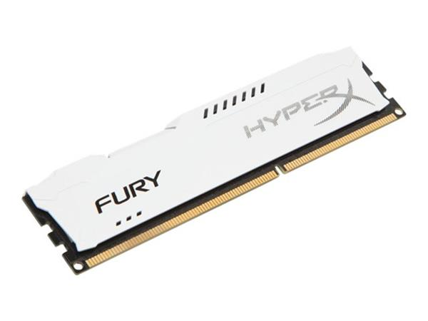 HyperX FURY White 4GB DDR3 1333MHz CL9 DIMM Memory