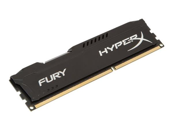 HyperX FURY Black 8GB DDR3 1866MHz CL10 DIMM Memory