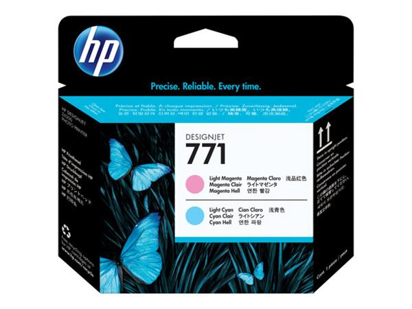 HP 771 Light Magenta/Light Cyan Designjet Printhead