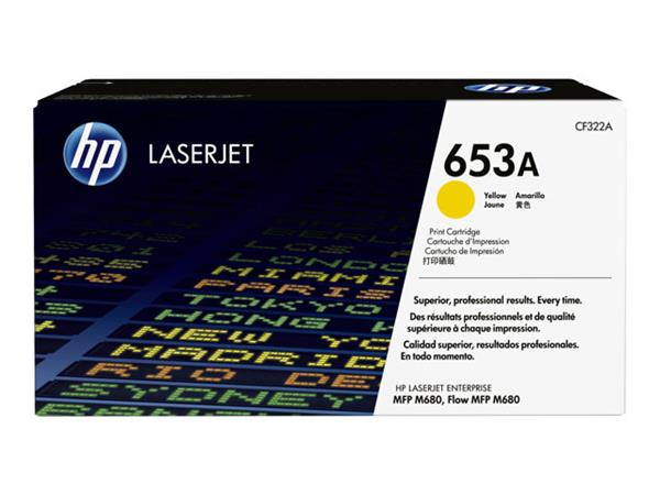 HP 653A Yellow Original Toner Cartridge