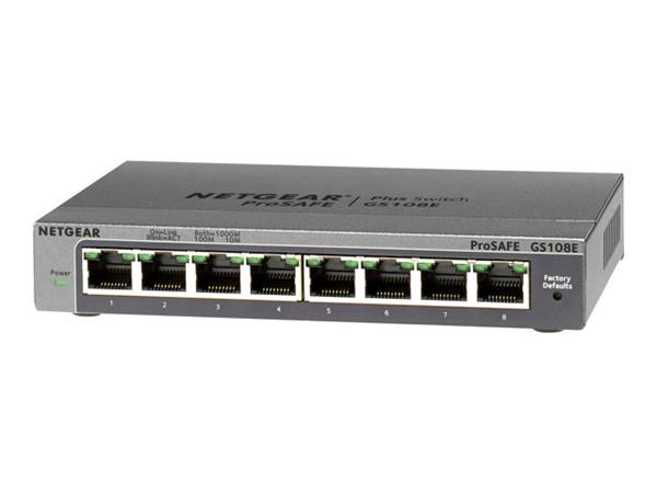 NetGear Prosafe 8-Port Plus Switch