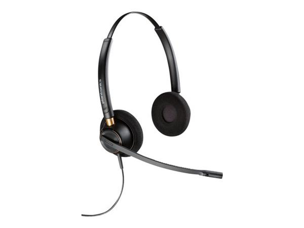 Plantronics EncorePro HW520 Noise Cancelling Duo Corded Headset