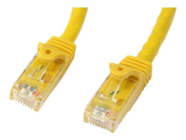 StarTech.com 3m Yellow Cat6 Patch Cable