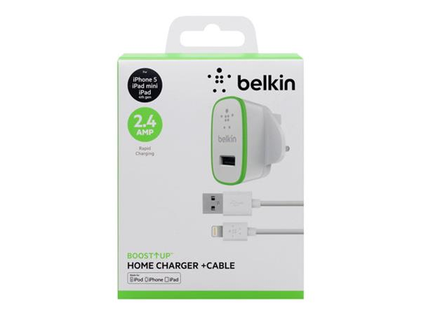 Belkin Ultra-Fast 2.4amp USB Mains Charger for Apple Items