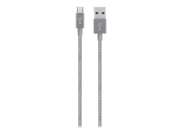Belkin Premium MixIt Charge + Sync USB to Micro-USB Cable - Grey