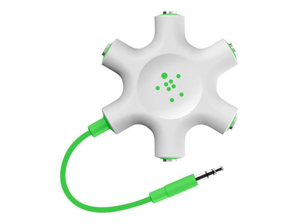 Belkin MixIt Colour Range Rockstar Multi 5 Way Headphone Splitter